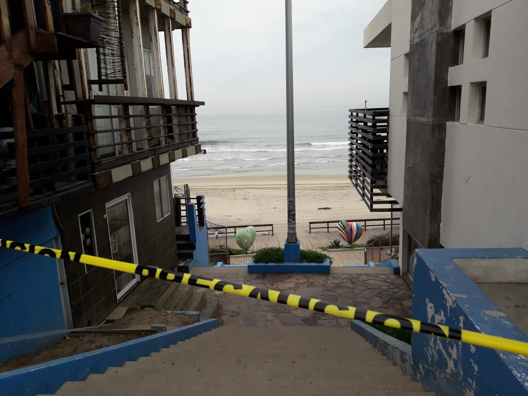 La Playas de la ciudad están cerradas – Tijuana En Linea Noticias