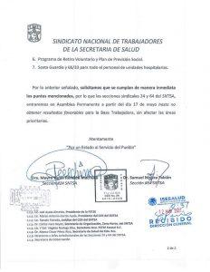 Huelga, Paro, Trabajadores, Salud, Jaime Bonilla